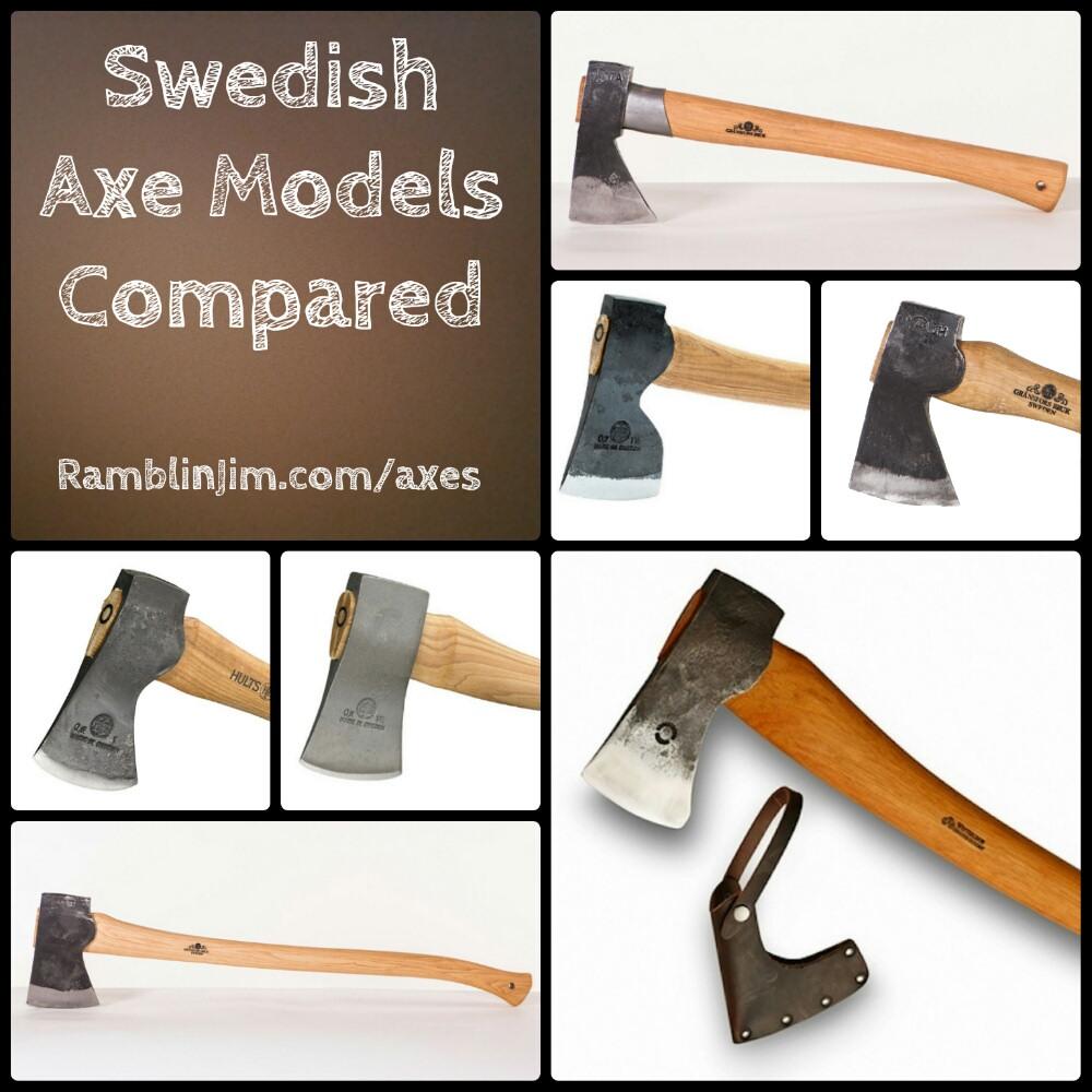 Swedish Axe Models Compared: Gransfors Bruk, Hults Bruk, Hultafors
