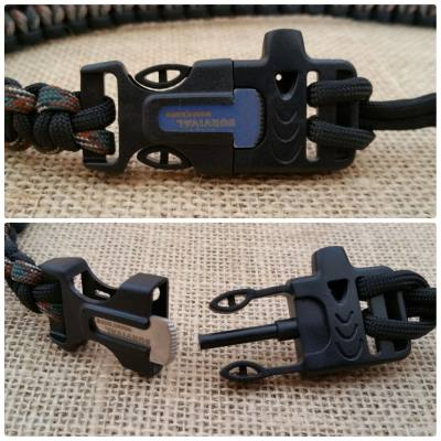 The HandMadeByHeroes.com survival buckle