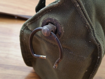 Strap Mounting Hardware for the Vintage Military Messenger Bag
